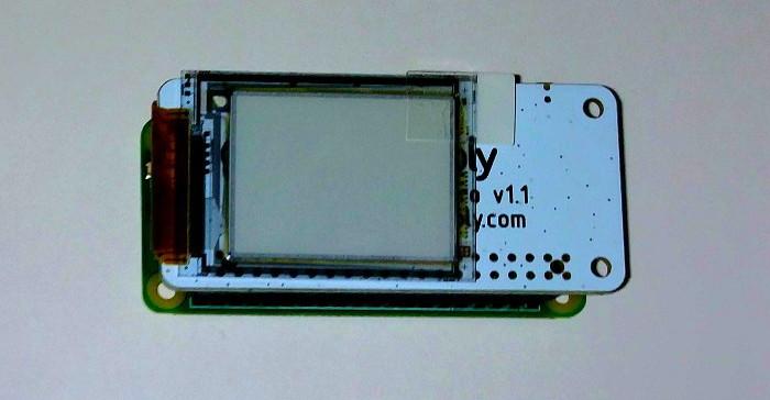 display e-paper raspberry pi