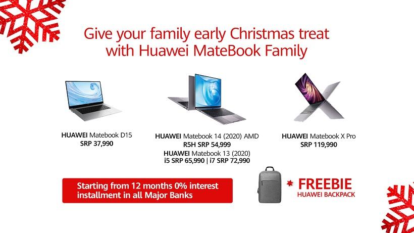 Huawei MateBook D14 Early Christmas Promo