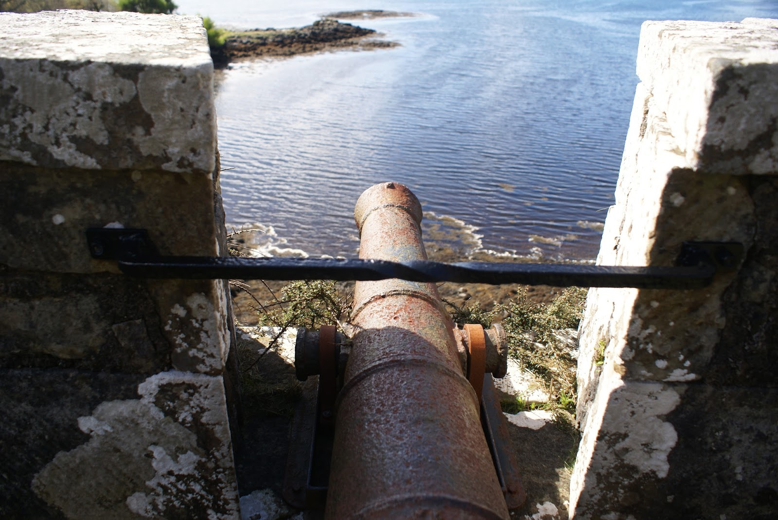 isle of skye scotland united kingdom dunvegan castle cannon