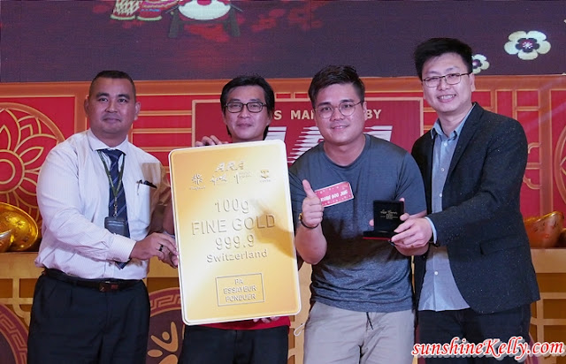 Gold Bars Winners, Grand Finals,  ARA Golden Prosperity, Anyone Can Win, Game Show, Shopping Mall, Ara Malls, Lifestyle
