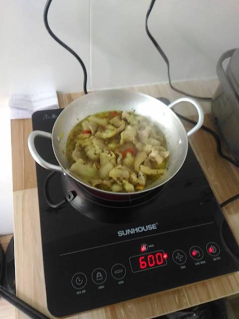 Đánh giá bếp hồng ngoại cảm ứng Sunhouse SHD6016