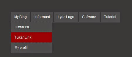 Cara Membuat Menu Horizontal Dropdown Sederhana