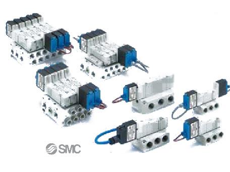 53-SY Solenoid Valves - 5 Port SMC Pneumatic