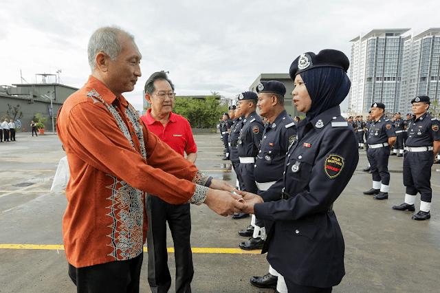 Sunway City, Zon Larangan Merokok, KKM, PDRM,