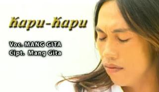 Lirik Lagu Lawas Kapu Kapu Mang Gita