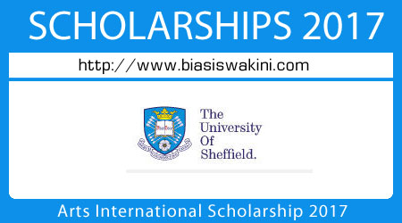 Arts International Scholarship 2017