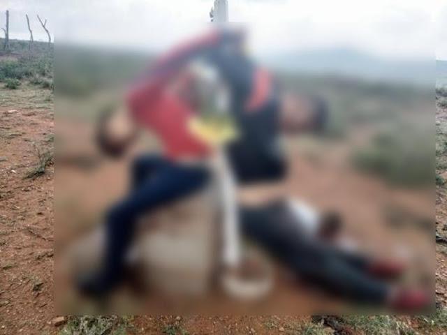 Lo que dejan, así son unas de las imágenes entre guerra CJNG y Cártel de Sinaloa en Zacatecas