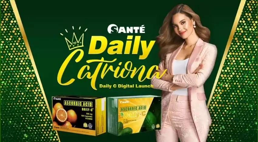 Catriona Gray - Santé Daily C