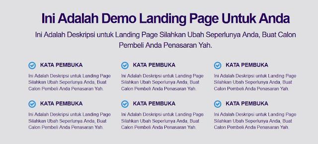 Panduan Instal Template Company Landing