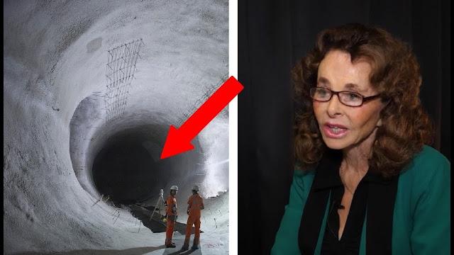 Entrada al interior del hielo de la Antartida ¿estructura extraterrestre?