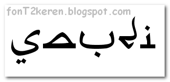 Download Font Arabic Style | Free Download Font