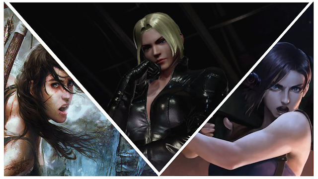 Lara Croft Nina Williams and Jill Valentine are the most badass female video game characters