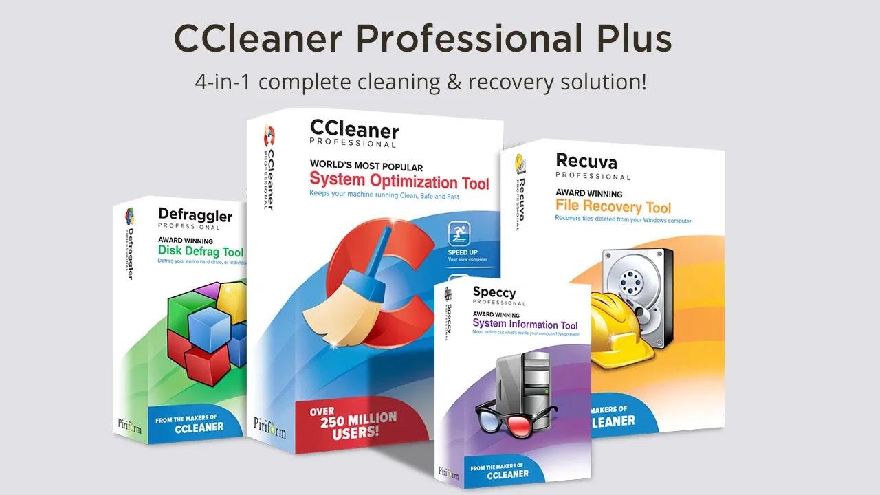 تحميل برنامج CCleaner Professional Plus 5.70 لجعل جهاز الكمبيوتر الخاص بك نظيفًا وأسرع