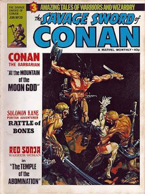 Savage Sword of Conan #20, Mike Kaluta, UK