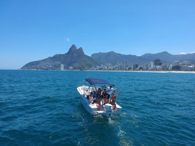 Blog Apaixonados por Viagens - Rio de Janeiro - Passeio de Lancha - Rio Island Boat Tour