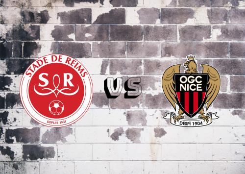 Reims vs Nice  Resumen