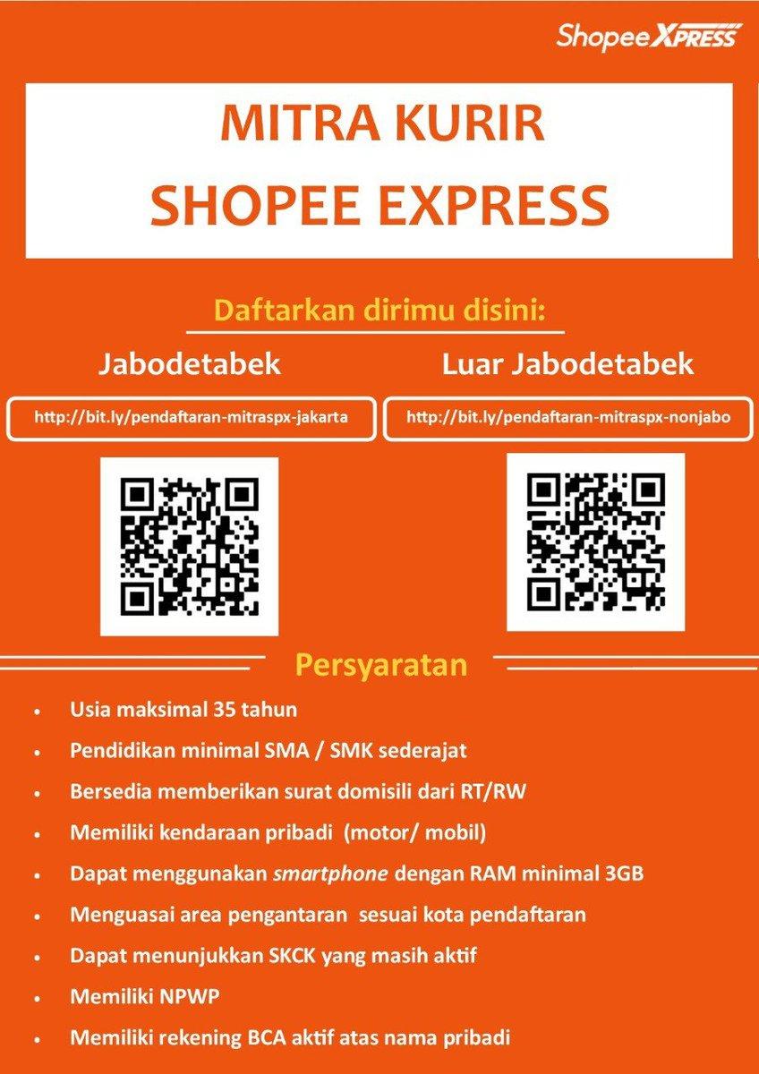 Lowongan Kerja Medan Desember 2020 Sma K Sederajat Shopee Express