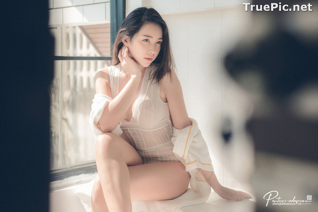 Image Thailand Model - Soraya Suttawas - Monikini Bath Light - TruePic.net - Picture-3
