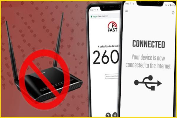 طريقة حصرية لربط و مشاركة انترنت الهاتف بالحاسوب و عكس ذلك مجانا عبر هذا التطبيق الجديد
