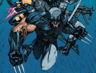 Traje gris de Wolverine en Uncanny X-Force