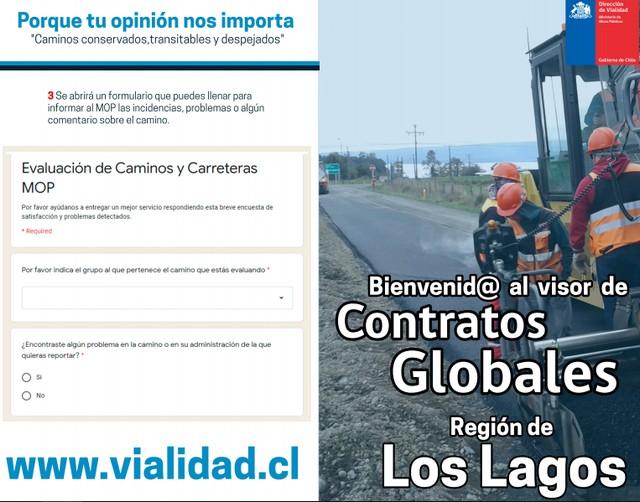 Dirección de Vialidad implementa Visor de Contratos Globales