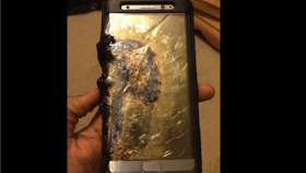 Banned Samsung galaxy note 7