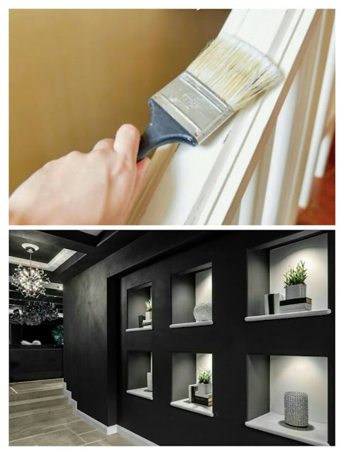 paint colors for hallways and stairs