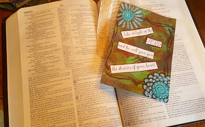 Bible Journalling and Card Making ~ so Relaxing