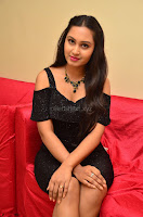 South Actress Amulya in short black dress at Kalamandir Foundation 7th anniversary Celebrations ~  Actress Galleries 048.JPG