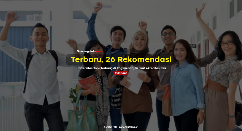 Terbaru, 26 Rekomendasi Universitas Top (Terbaik) di Yogyakarta, Berikut Akreditasinya