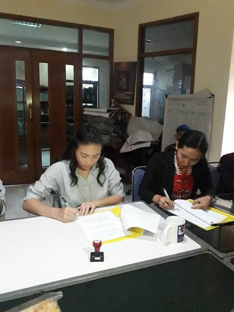 Penandatanganan MoU Penanganan Kasus Tindak Pidana Perdagangan Orang (TPPO) YLBH APIK Jakarta dengan Yayasan Parinama Astha
