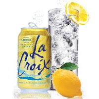 Non alcoholic beverages like La Croix Sparkling Water are great