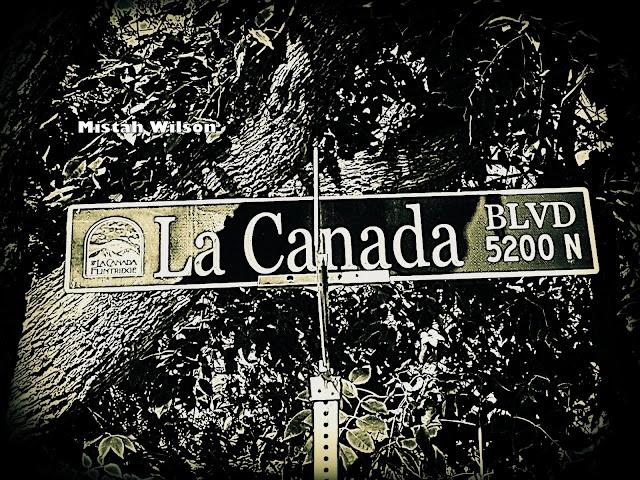 La Cañada Boulevard, La Cañada Flintridge, CA by Mistah Wilson