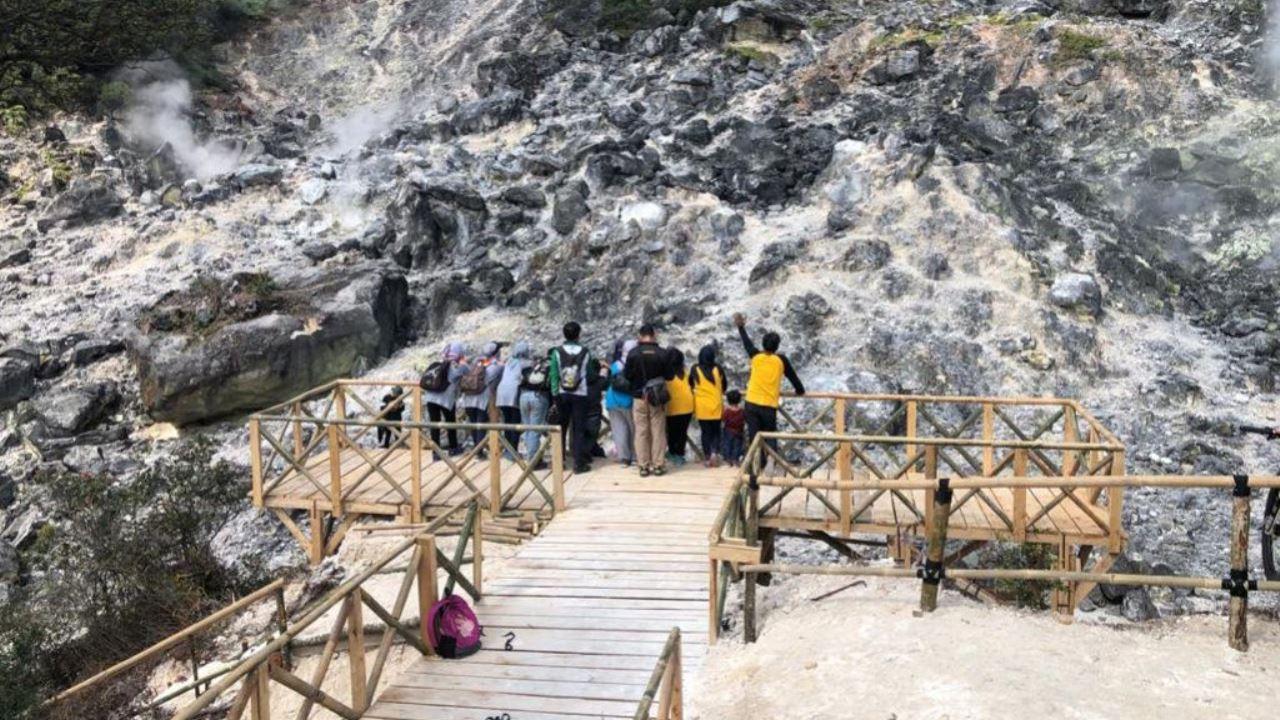 Wisata Kawah Wayang Tempat Liburan Baru di Pangalengan yang Keren Abiz