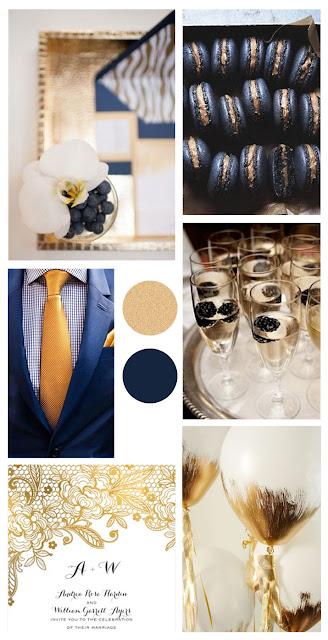 moodboard bruiloft