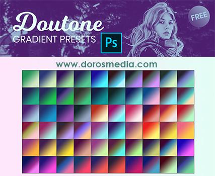 تدرجات لونية للفوتوشوب حمل تدرجات لونية مميزة للأدوبي فوتوشوب Photoshop Gradients