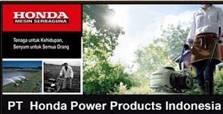 Lowongan kerja PT Honda Power Products Indonesia Spare part administration