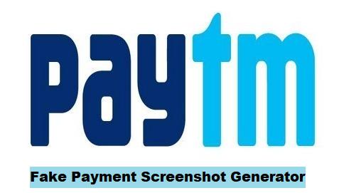 Paytm fake payment ss generator