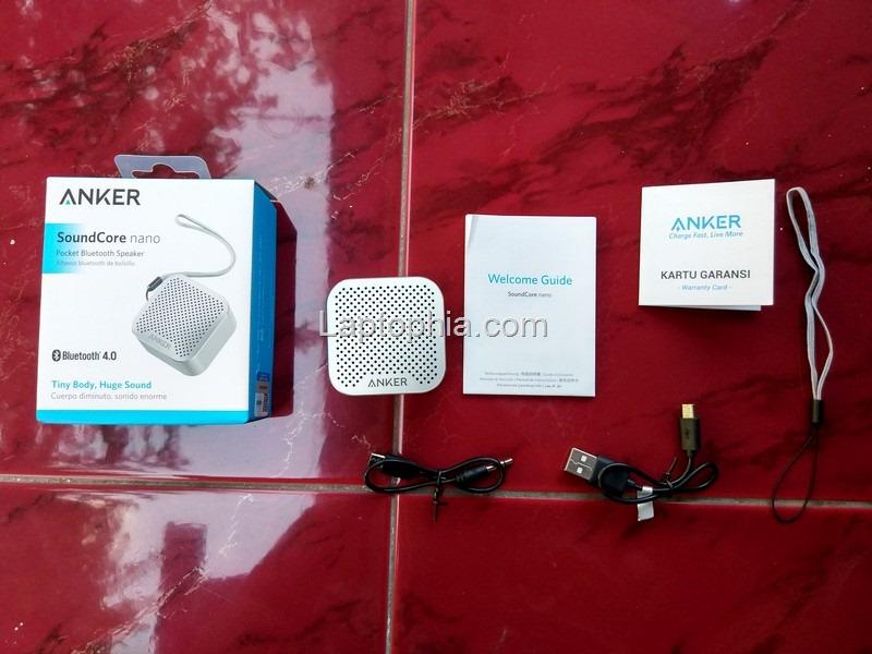 Paket Pembelian Anker SoundCore Nano