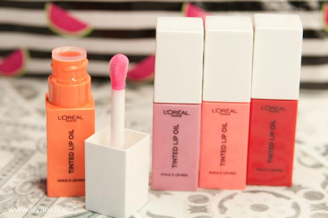 Loreal Tinted Lip Oil
