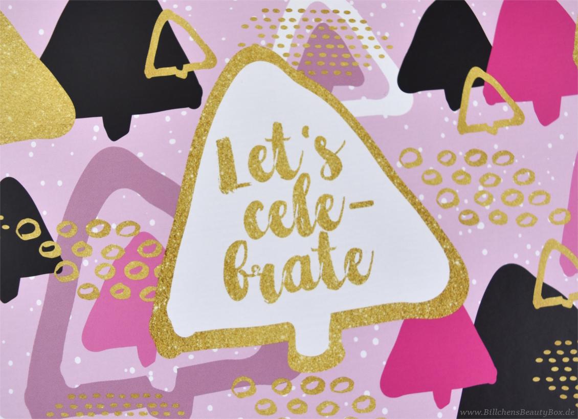 Unboxing & Inhalt - Pink Box - Let's Celebrate - Dezember 2016