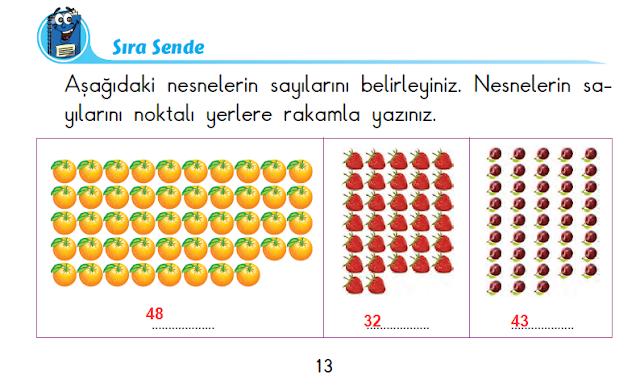 2. Sınıf Başak Yayınları Matematik 13. Sayfa Cevapları 1. Ünite Doğal Sayılar