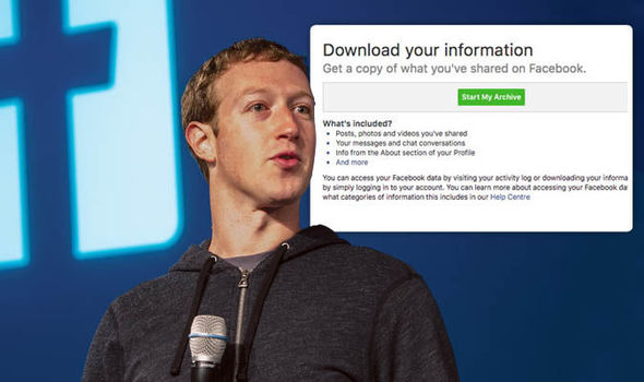 Cara Download Arsip Data Akun Facebook Kamu