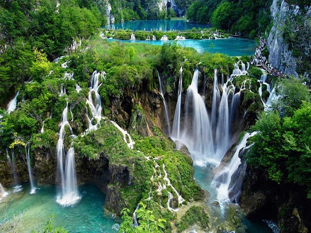 Plitvice Lakes Croatia Most Beautiful Lakes in the World Adventure Travel