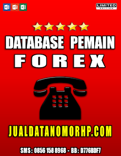 Jual Database Nasabah Priroitas Pemain Forex