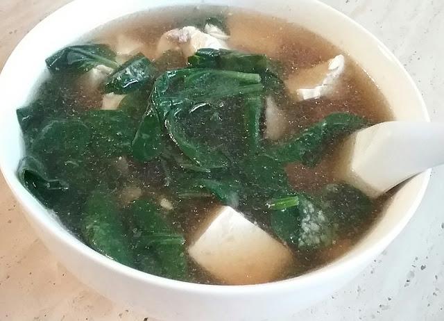 Sup Bayam asal mula Creamy Spinach Cita Rasa Indonesia