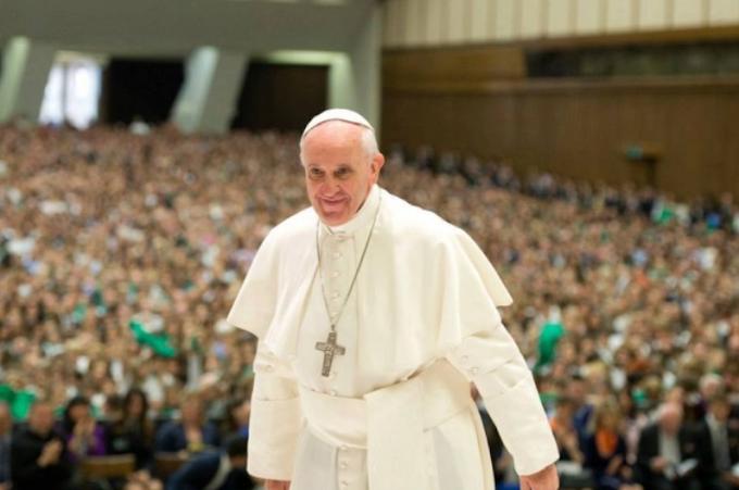 Il Papa favorevole alle unioni civili delle coppie omosessuali