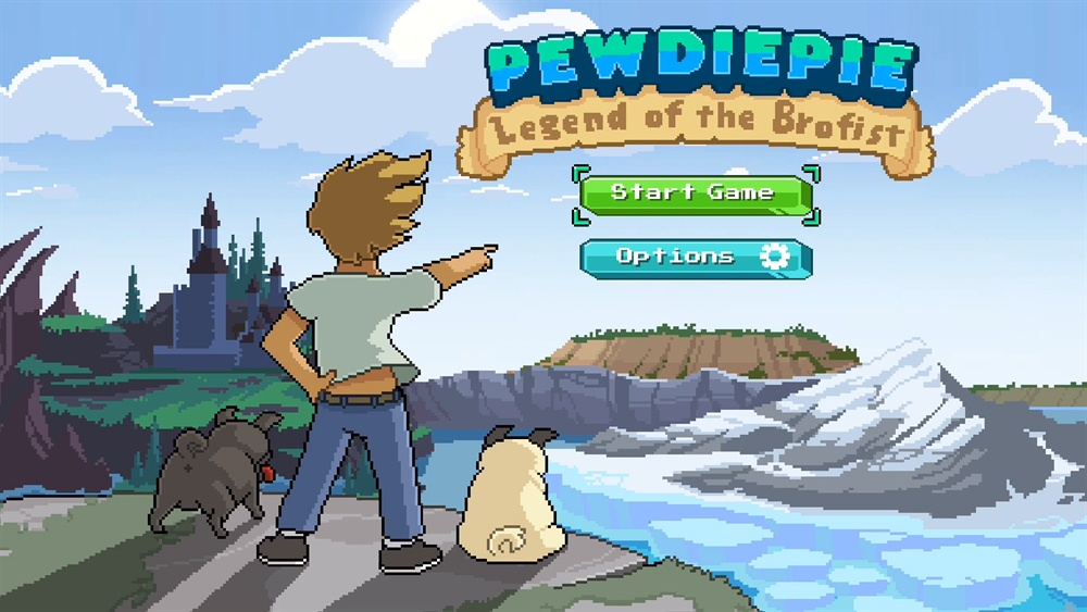 PewDiePie Legend of Brofist Download Poster