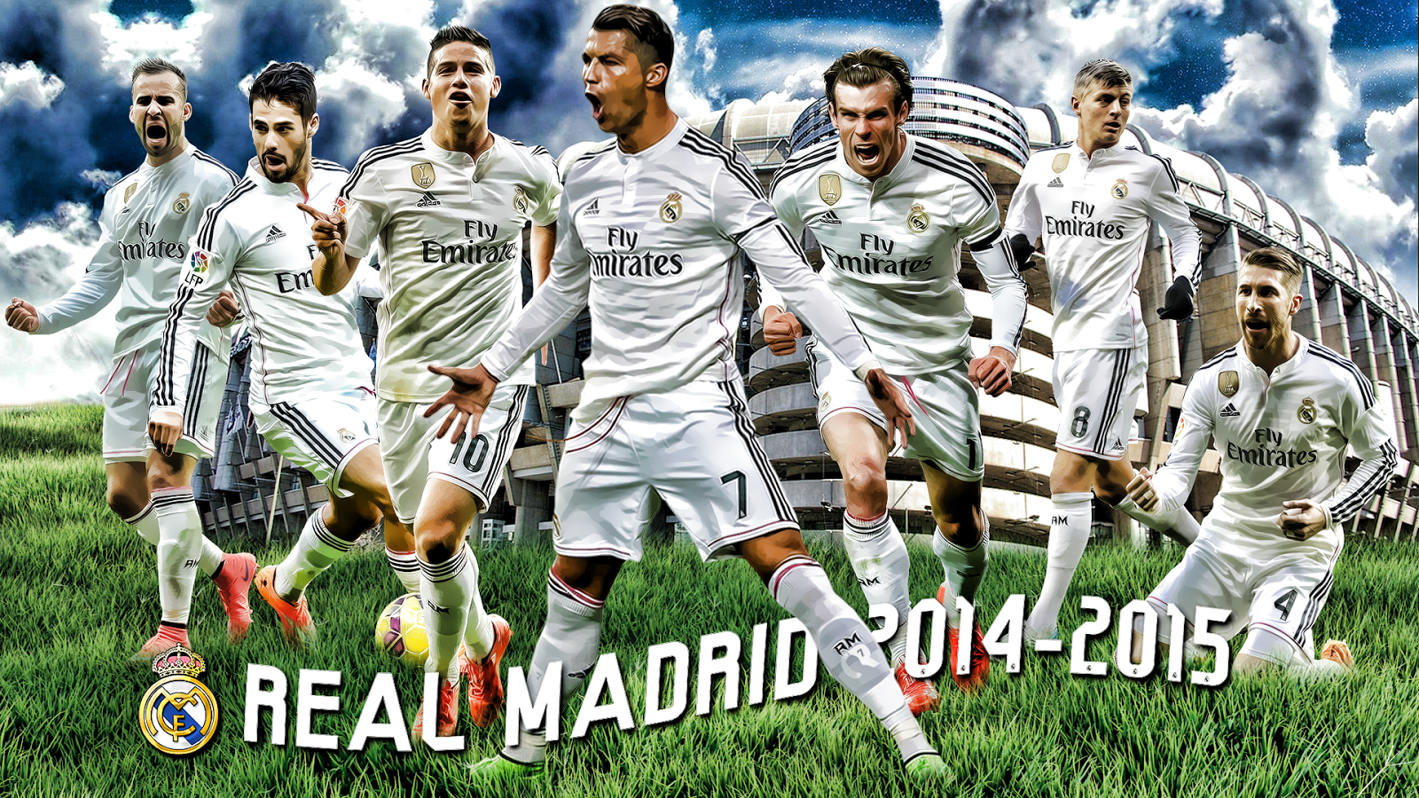 Real Madrid 2014 15 By Szwejzi