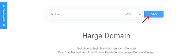 Cari Domain yang Mau Dibeli di IDCloudHost